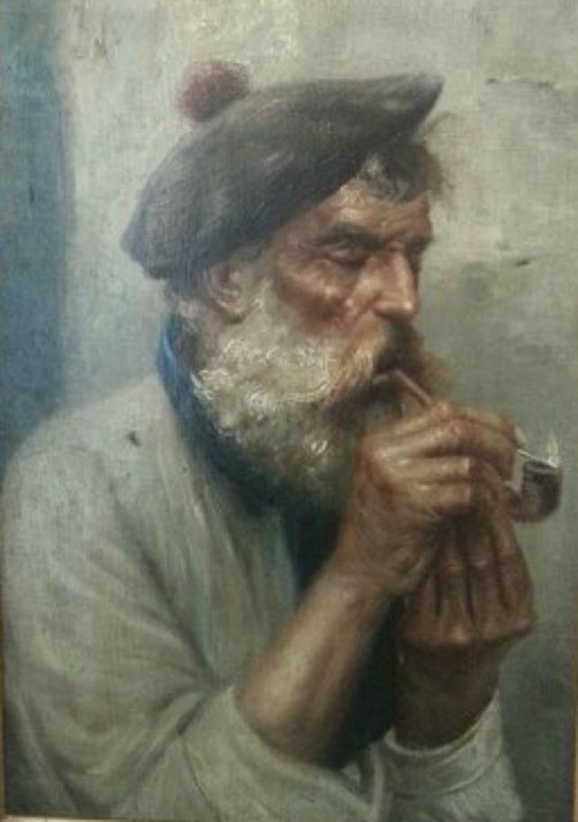 19th century portrait of a Scottish fisherman.