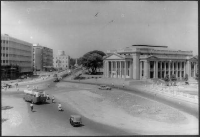 Bangalore: Town Hall pictured in 1940s, a Neoclassical Relic