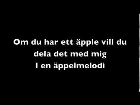 Äppelmelodin (med sång)