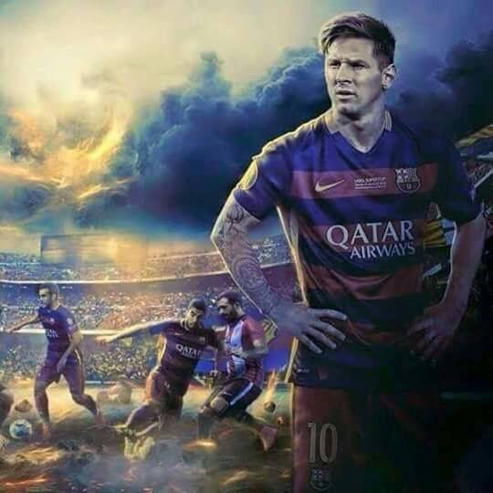 740. Edit: Messi