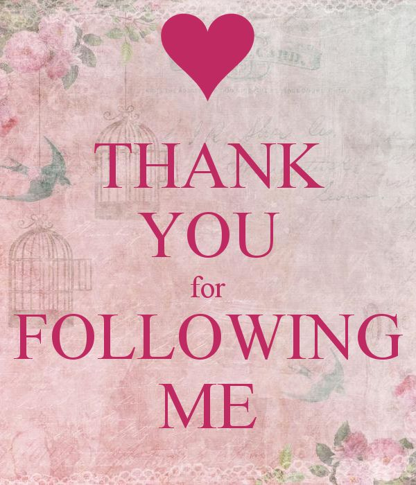 I APPRECIATE ALL MY FOLLOWERS. YOU'RE THE BEST!