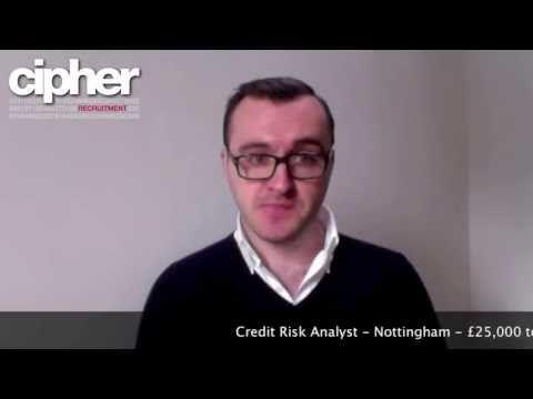Credit Risk Analyst - Nottingham - £25,000 to £35,000 - April 2013