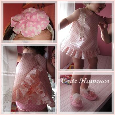 www.corteflamenco.com traje bebe gitana