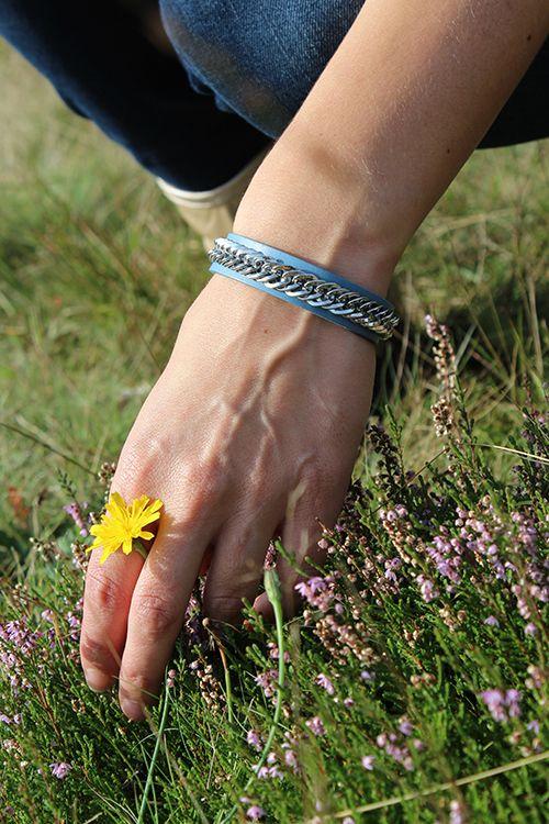 Wings Byou Bracelet Blue € 19,95 #sieraden #armband #bracelet #blauw #accessoires #byou #byoux #moderood