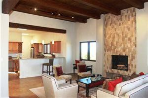 This stunning southwestern contemporary home captures the light and the views that New Mexico is known for!  This architecturally inspired home unfolds nicely room to room with open floor plan, with two outdoor decks that allow one to enjoy the awesome views that this premium lot affords.   Only 10 minutes to the Plaza!   Property Listing: http://www.santafepropertyfinder.com