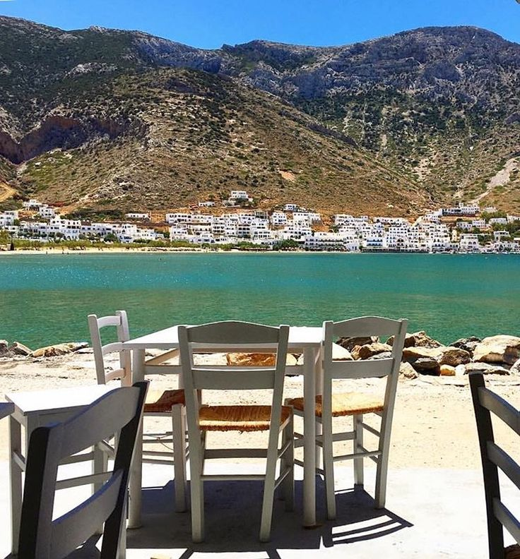 The picturesque Kamares bay in Sifnos island (Σίφνος) ❤ !