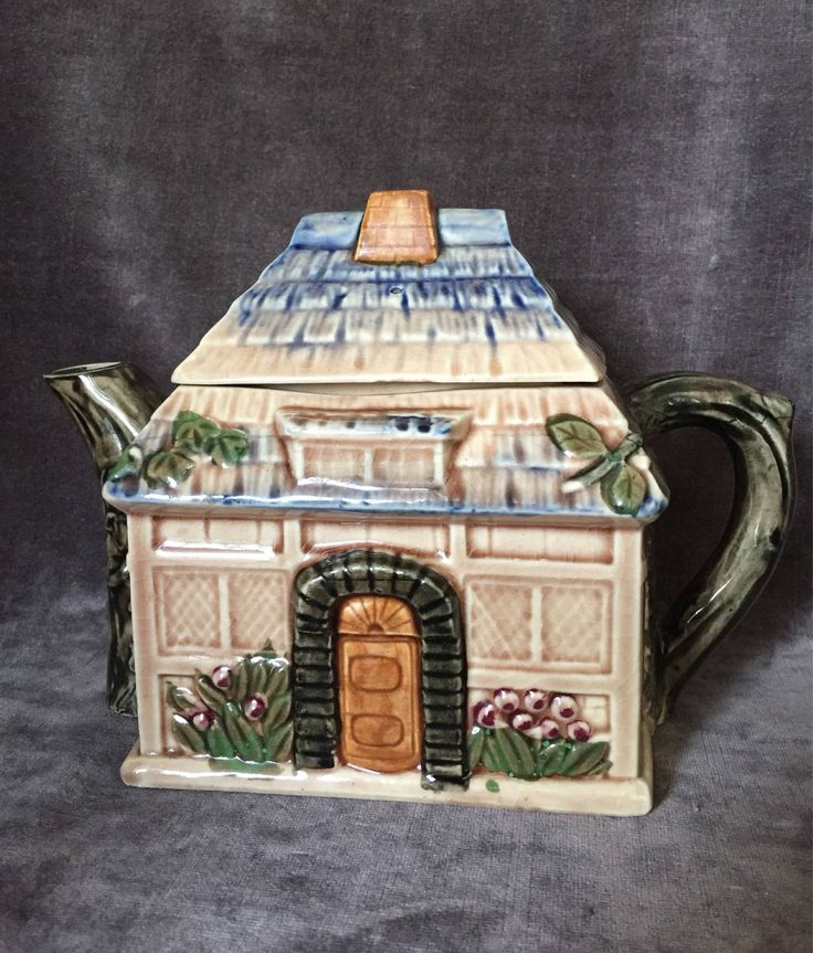 A personal favorite from my Etsy shop https://www.etsy.com/ca/listing/541009896/vintage-teapot-japan-straw-roof-thatch