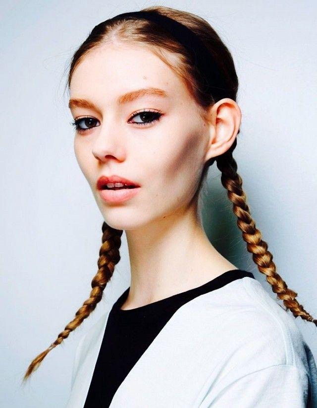 Prime 1000 Ideas About Tight Braids On Pinterest Ballet Buns Braids Short Hairstyles Gunalazisus