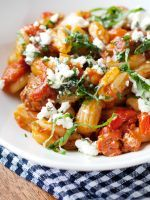 """8 Insanely Delicious Pasta Recipes #refinery29  http://www.refinery29.com/59235#slide-6  The Person: Claire Thomas, The Kitchy KitchenThe Pasta: Shrimp Fra Diavolo """"Time is really the star ingredient in this recipe. Letting the onions soften until almost melting in texture, the sauce simmering until reduced to a rich combination of bright white w..."""