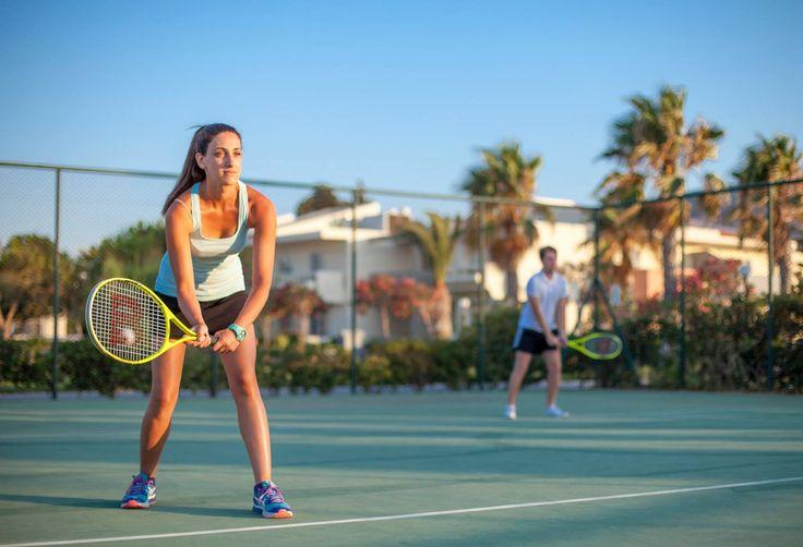 Game, set, match and let the racket do the moves! #tennisplayer #tennis #tenniscourt #kipriotishotels