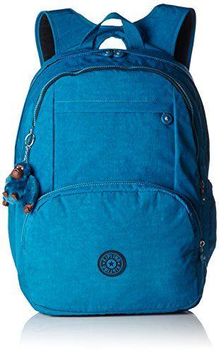 Kipling – HAHNEE – Grand sac à dos: Sac à dos Hahnee grand format avec protection pour ordinateur portable et bretelles rembourrées Sangles…