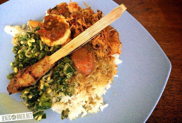 Nasi Ayam Pak Sedan  Jl. Made Lebah, Pengosekan Ubud – Bali