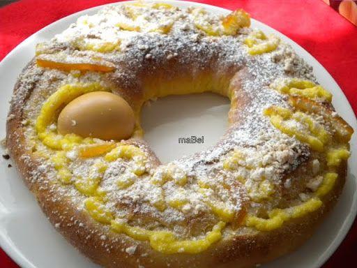 Rosca de Pascua de Narda Lepes ( Mona de Pascua) por La cocina de ile