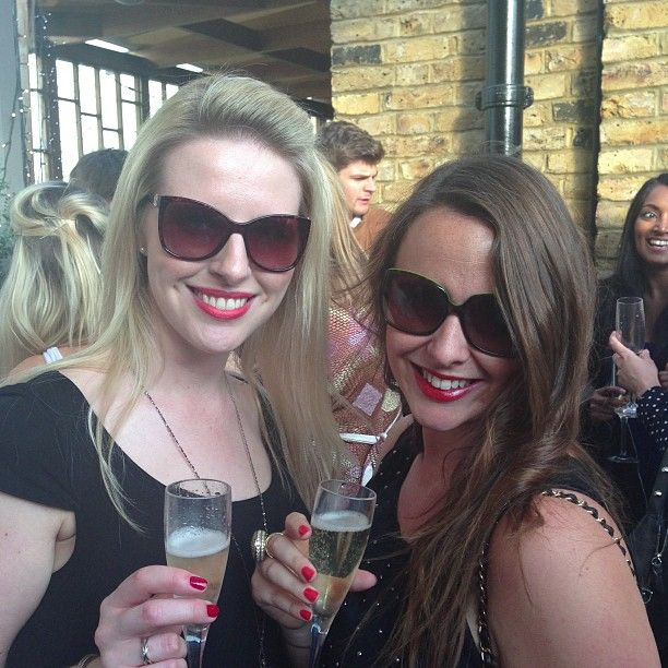 Some of the beautiful guests at the Liberation Day launch party!