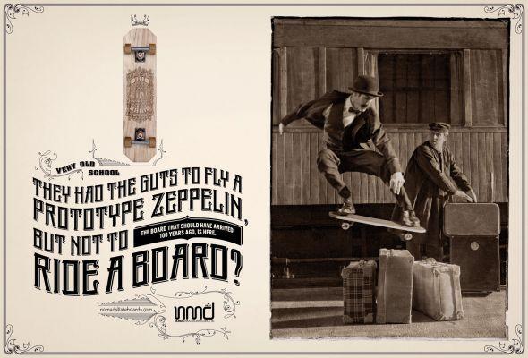 Nomad Skateboards: Zeppelin