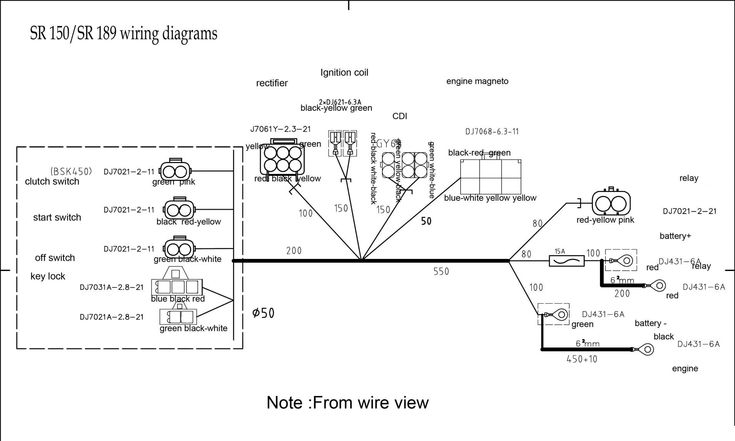 10  Lifan 250cc Engine Wiring Diagram