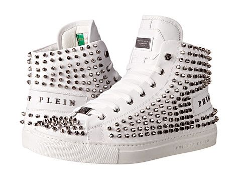 PHILIPP PLEIN Studded High Top. #philippplein #shoes #sneakers & athletic shoes