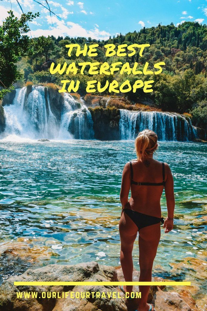 The Best Waterfalls in Europe | Must-See Falls | Locations and entrance fees included. Iceland, Norway Finland, Portugal, Azores, Scotland | Check out the most impressive waterfalls in Europe! Big or small, wide or narrow, popular or hidden? #waterfalls #mustsee #best