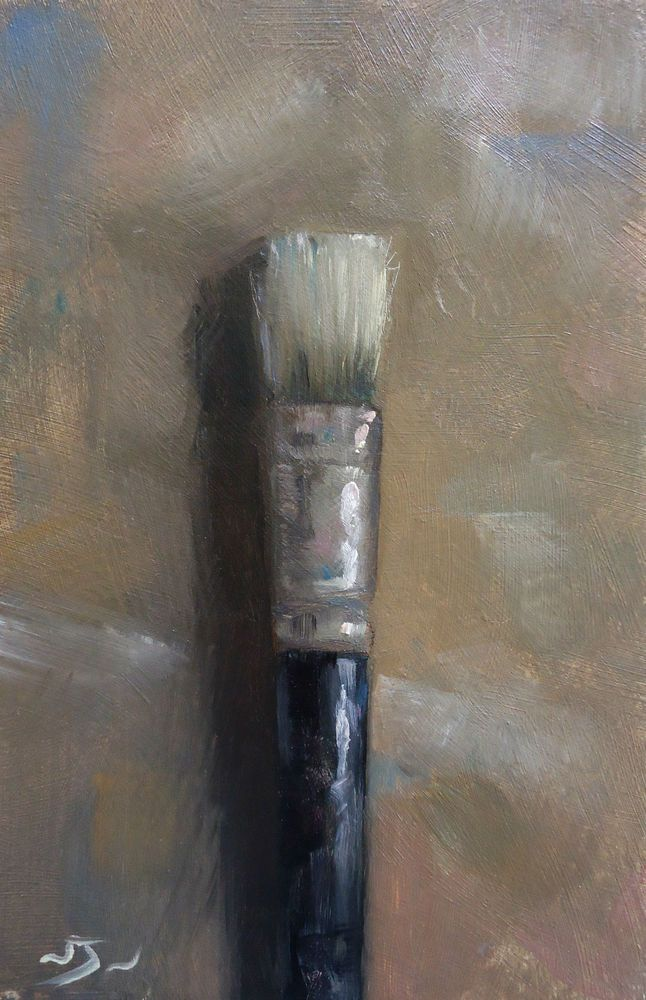 Original Oil Painting - Old Hog - Contemporary Still Life Art - Nelson