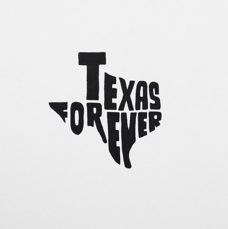 Texas Forever -Tim Riggins Friday Night Lights hand lettered quote