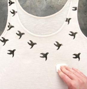 Customisez votre T-shirt avec un tampon fait maison {tuto} - Autres bricoles - Pure Loisirs