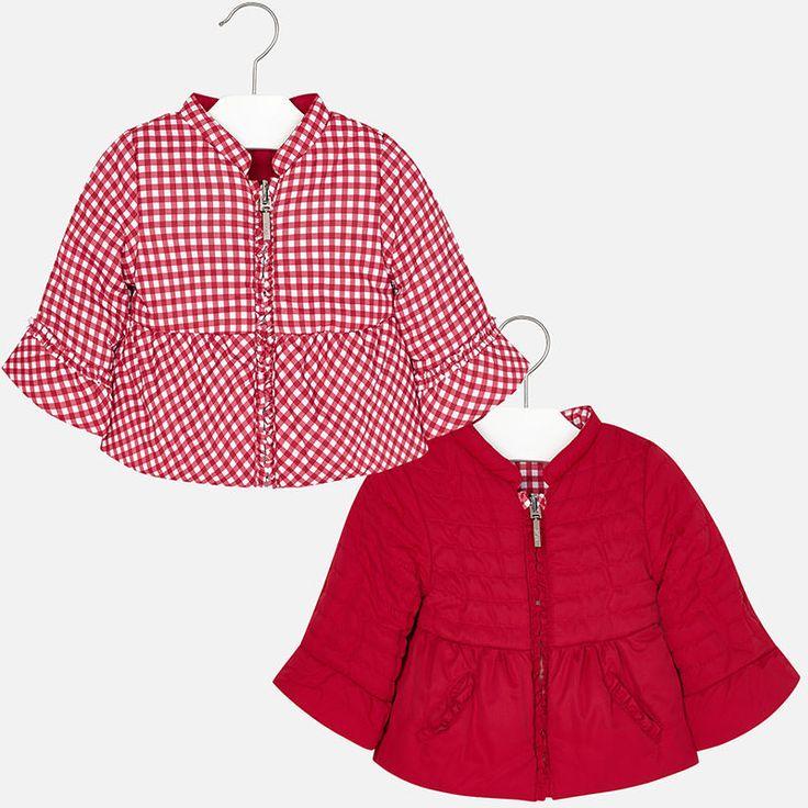 Dievčenská obojstranná bunda Mayoral - Red