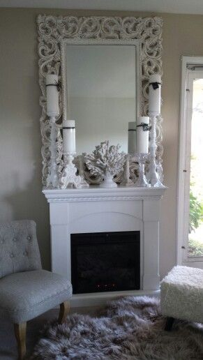Idee pour peindre - Fake fireplace