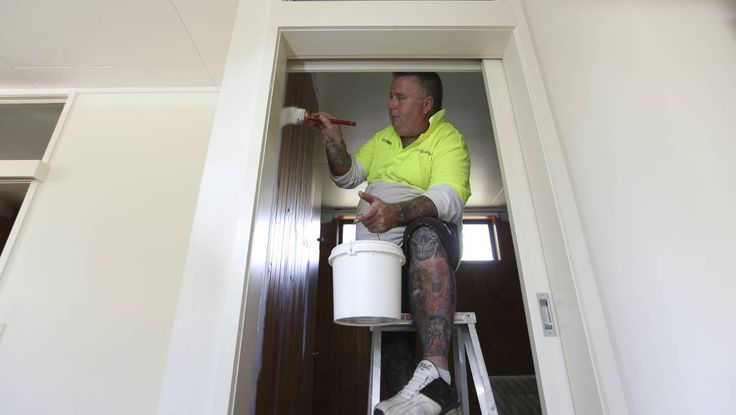 SPECIAL PLACE: Sean Elliott is attempting to renovate two cabins at the Ball Park Caravan Park in Corowa so families affected by cystic fibrosis will still be able to use them. Picture: ELENOR TEDENBORG