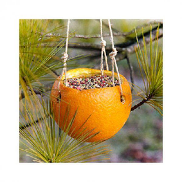 Mangeoire orange - Marie Claire Idées