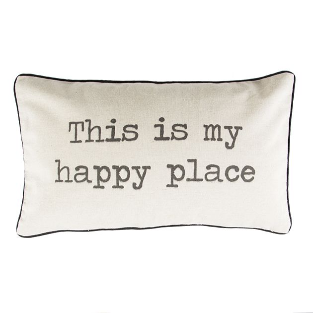 This Is My Happy Place Cushion   Cushions   Sass & Belle