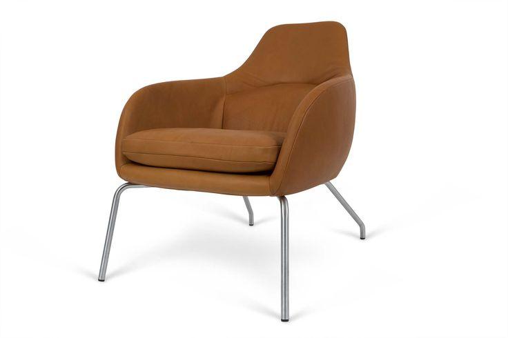 ASENTO | Lounge chair from Bent Hansen. Lænestol, lounge stol, lounge chair, Bent Hansen.