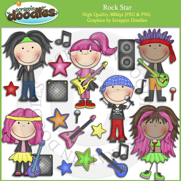 Rockstar Classroom Decor ~ Best rock n roll images on pinterest clip