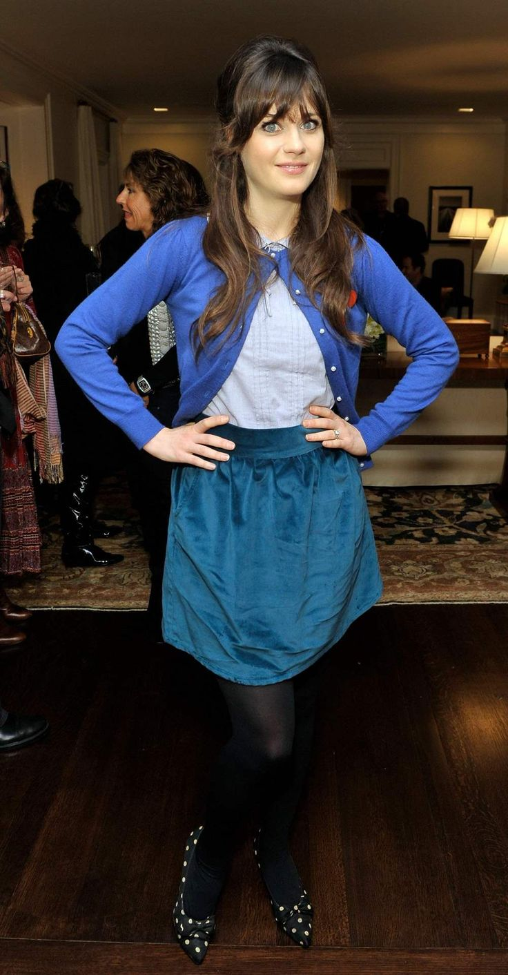 Pin by Fashion Dolling on Zooey Deschanel Zooey