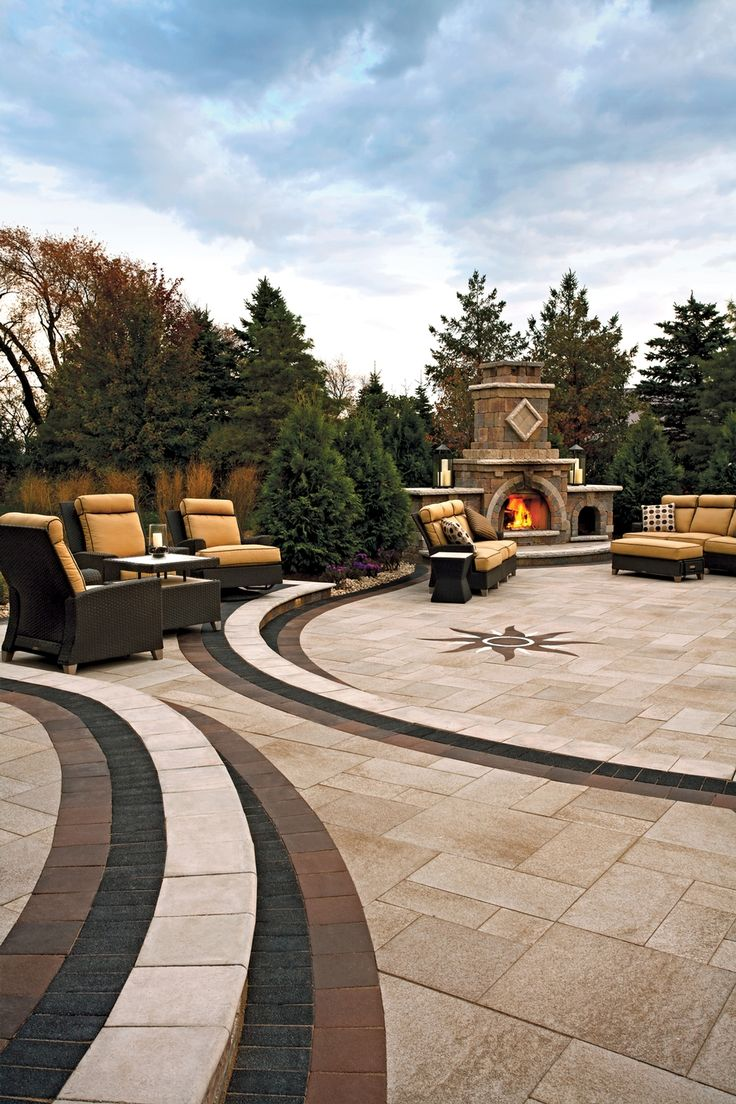 13 best outdoor fireplaces and firepits images on pinterest