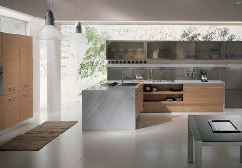 Amazing Contemporary Kitchen Designs by Febal Cucine