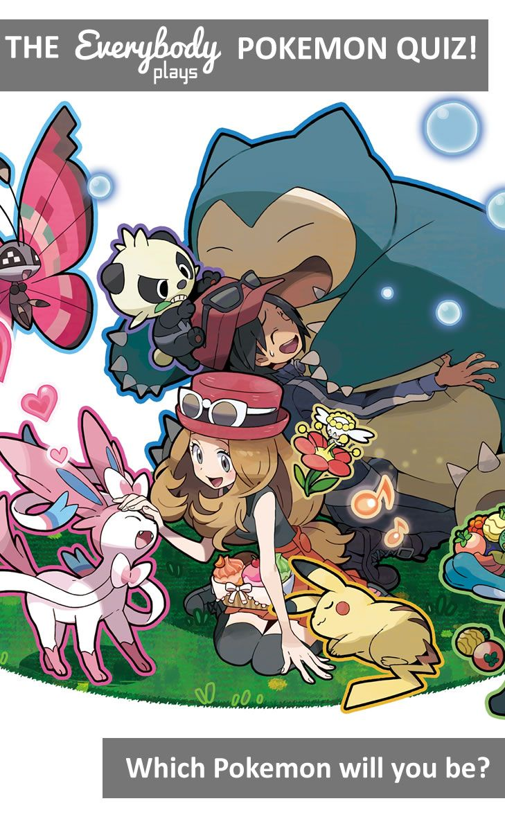 Ever wondered which Pokemon you'd be? Find out now in our Pokemon quiz!