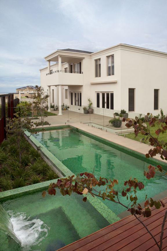 Perini Tiles- Pool and spa using Bisazza Oxford