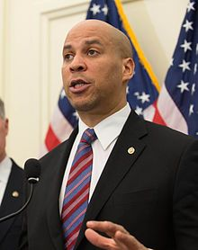 Cory Booker, 1969  Newark, NJ mayor, 2013 sen.nominee (D.NJ).