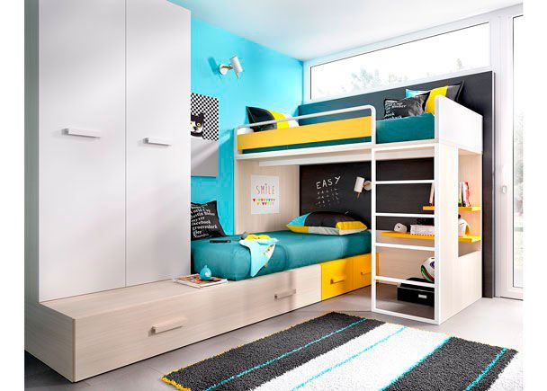 17 mejores ideas sobre camas de tarima en pinterest cama for Cama modular infantil