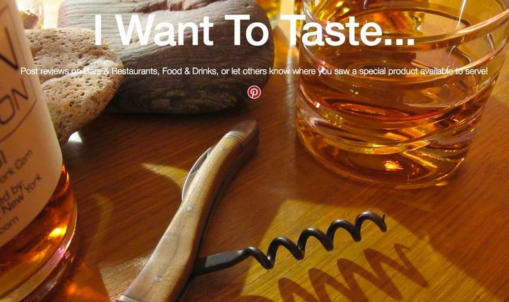 Now available to EVERYONE to post reviews on restaurants & bars, food & drink, or simply let others know where you saw a special product available to serve!  NO SIGN UP, NO LOGIN...JUST POST!  http://www.iwanttotaste.com