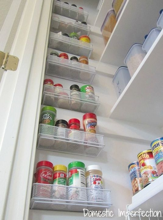 Utilize The Empty Wall Space In Your Pantry 29 Sneaky Tips