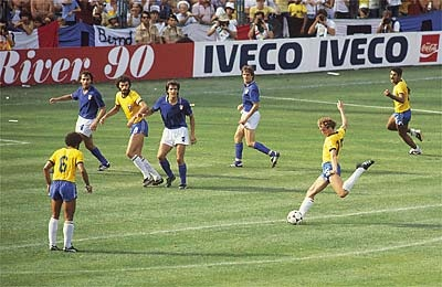 Brazil 2 x 3 Italy, 1982 World Cup (bad, sad and unforgetable day for brazilian team).
