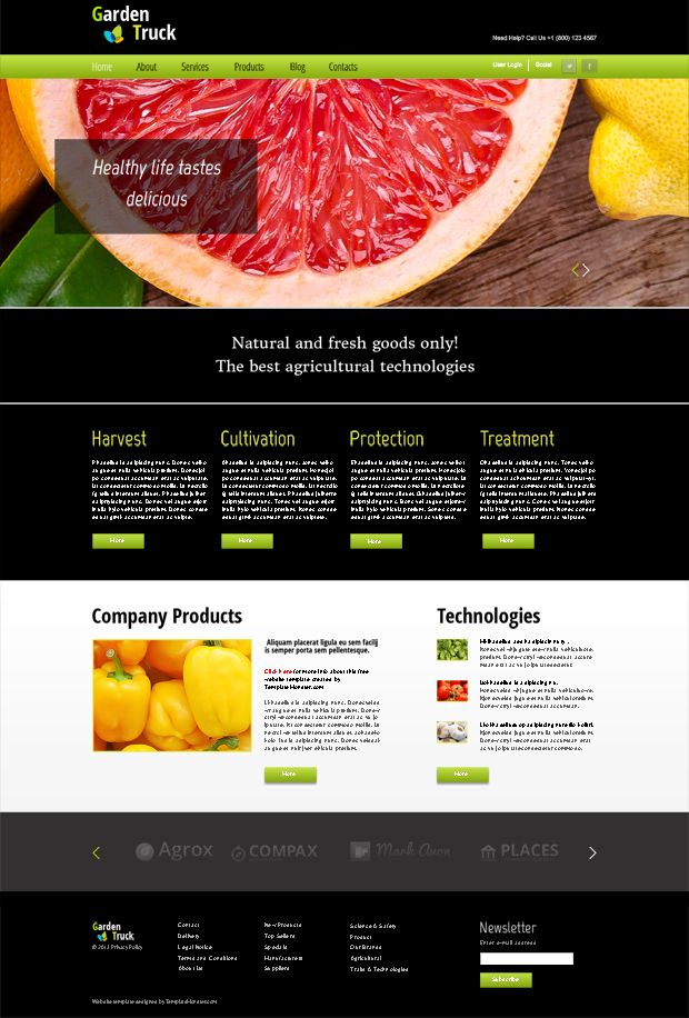 134 best free website templates images on pinterest templates free html plus flash template for agriculture website free theme http pronofoot35fo Choice Image
