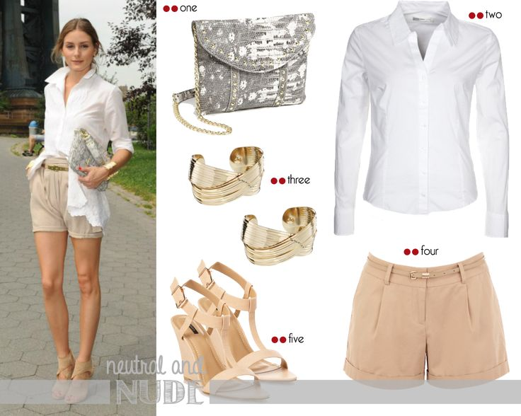 Get the look - Olivia Palermo: Olivia Palermo neutral for a morning event | http://getthelookoliviapalermo.blogspot.com.es/
