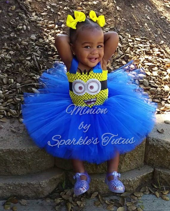 Hey, I found this really awesome Etsy listing at https://www.etsy.com/listing/242368897/minion-tutu-dress