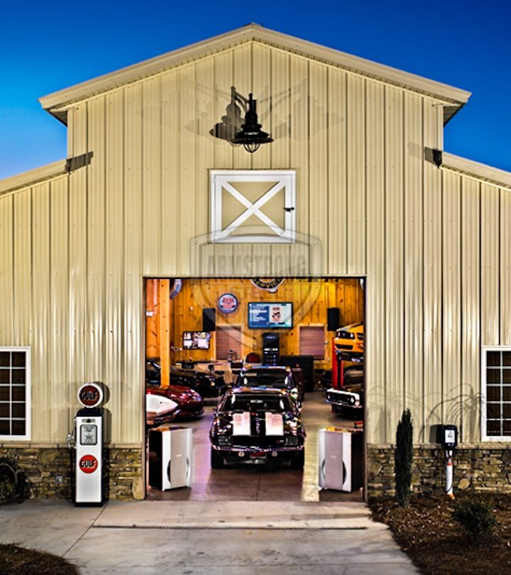 22 best garage images on pinterest carriage house for Garage workshop buildings
