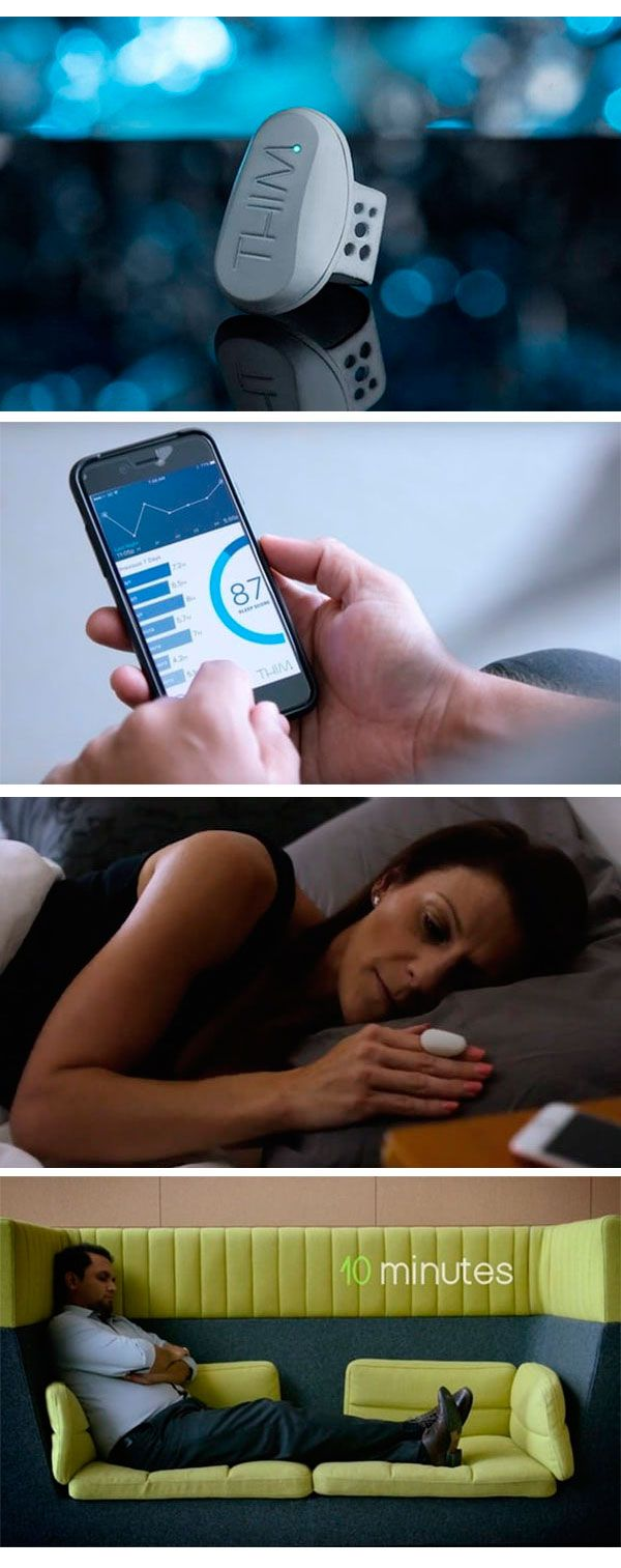 Монитор #Thim будит вас каждые три минуты после засыпания и улучшает качество сна