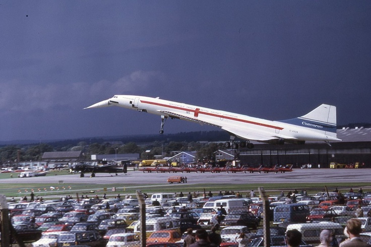 Concorde G-AXDN Farnborough