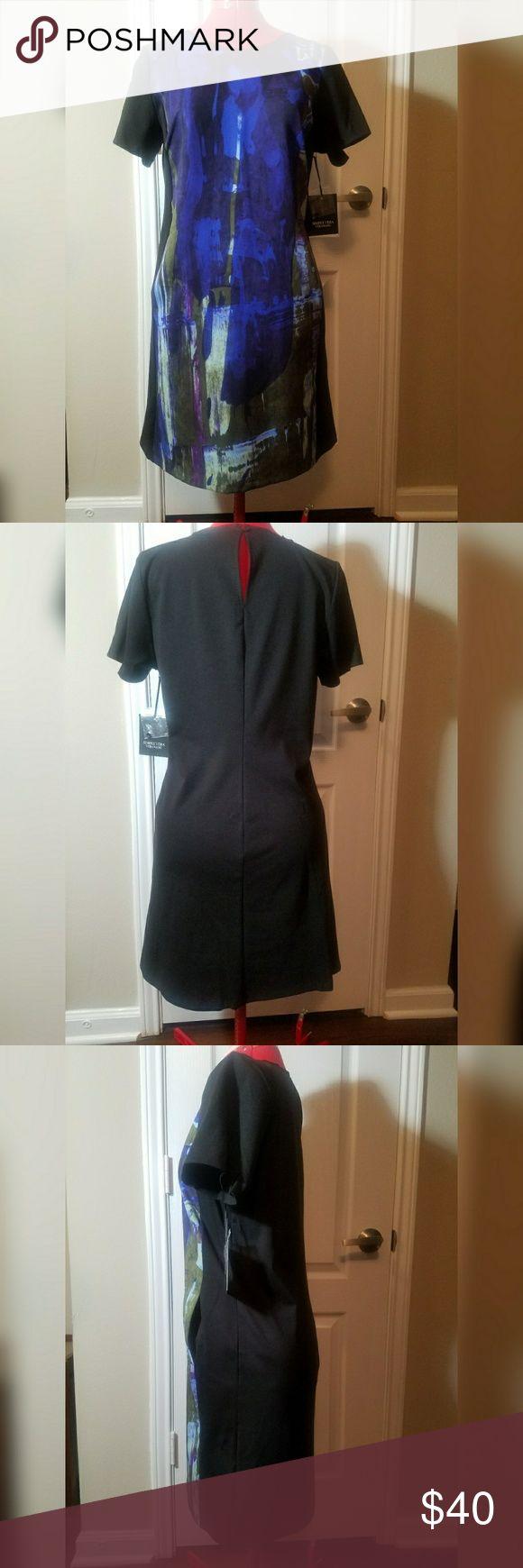 NEW, Simply Vera Vera Wang sheath dress NEW, Simply Vera Vera Wang sheath dress, side pockets, medium Simply Vera Vera Wang Dresses