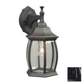 81 best exterior lighting images on pinterest exterior lighting galaxy 12 12 in h black outdoor wall light lowes aloadofball Gallery